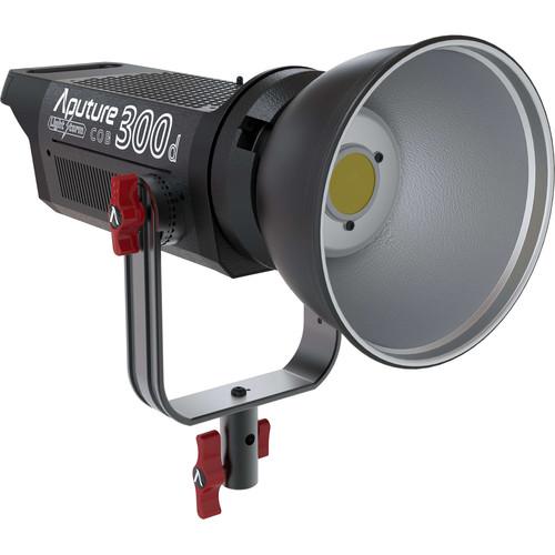 Aputure Light Storm C300d LED Light Kit with Gold Mount Battery Plate