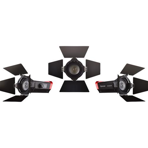 Aputure LS-mini20 Daylight/Bi-Color 3-Light Flight Kit