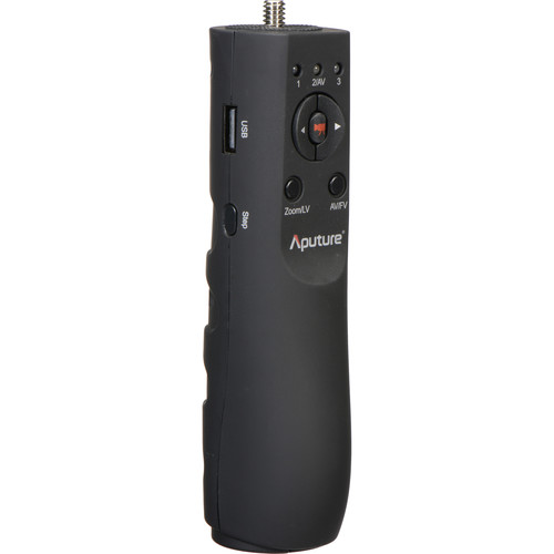 Aputure V-Grip USB Focus Handle with Handheld and Tripod Mounting Adapters for Select Canon DSLR Cameras