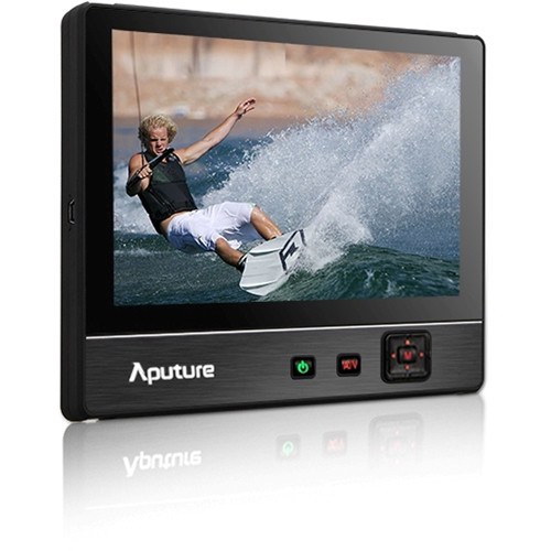 "Aputure VS-2 V-Screen 7"" IPS Field Monitor 1024 x 600 Native Resolution, Dual Power Inputs, Sony L Series Type Battery Plate"