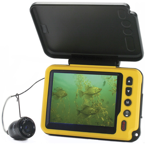 "Aqua-Vu AV Micro Plus Underwater Color Camera System with DVR & 3.5"" LCD Display"