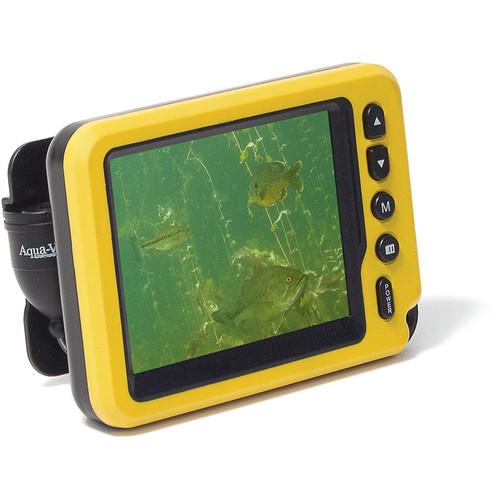 "Aqua-Vu AV Micro II Underwater Color Camera System with IR Lights & 3.5"" LCD Display"