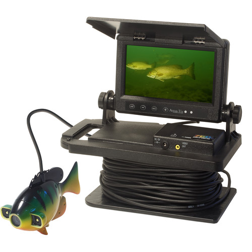 "Aqua-Vu AV 760c HD Color Underwater CCD Camera with 7"" LCD Display"