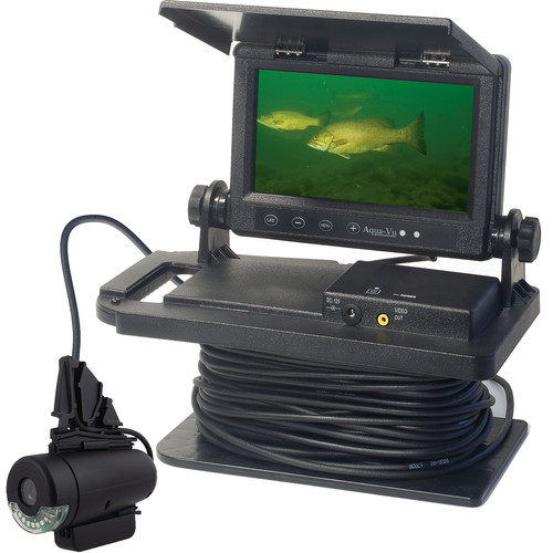 Aqua-Vu Color HD Underwater Video Camera with Zoom (Infrared)