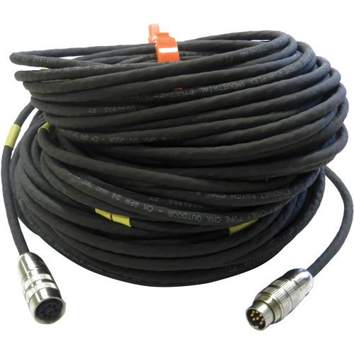 Aquabotix Cat 5e Cable Extension for HydroView Remote-Controlled Underwater Vehicles (125', Black)