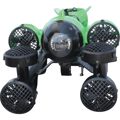 Aquabotix HydroView PRO 7M Mini Underwater ROV with Live Video (Battery Power, Lime Green and Black)