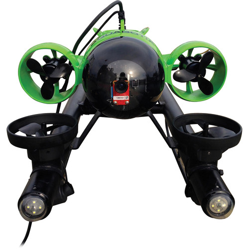 Aquabotix HydroView PRO SLE Mini Underwater ROV with Live Video (Battery Power, Lime Green and Black)
