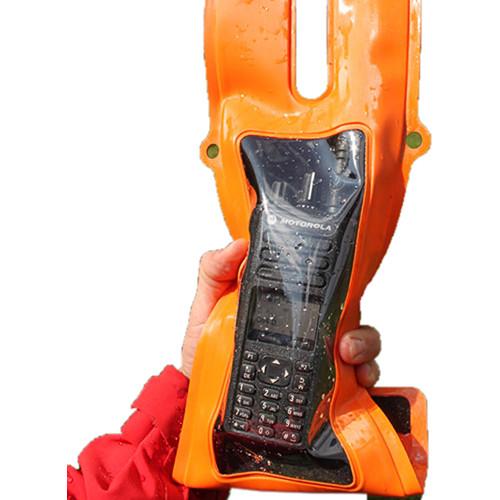 Aquapac Rugged PRO Waterproof VHF Radio Case (Safety Orange)