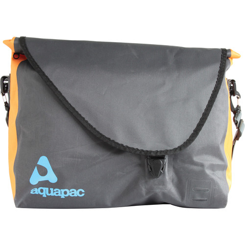 Aquapac Stormproof Messenger Bag (Cool Gray with Black & Orange)