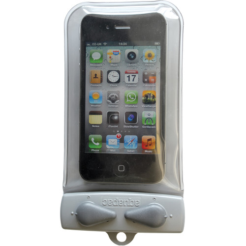 Aquapac Micro Waterproof Case for iPhone 1-4 (Cool Gray with Acid Green)