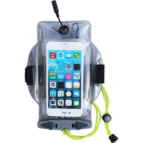 Aquapac MP3 Plus Waterproof Mobile Device Case (Cool Grey)