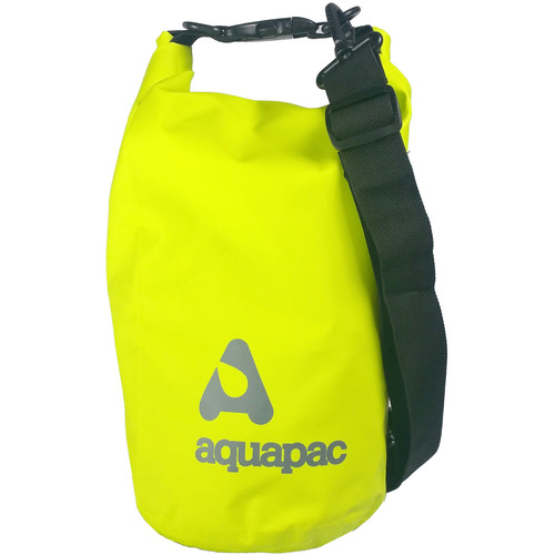 Aquapac TrailProof Drybag with Shoulder Strap (7 Liter, Green)