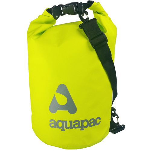 Aquapac TrailProof Drybag with Shoulder Strap (15 Liter, Green)