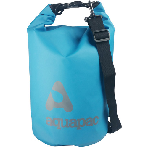 Aquapac TrailProof Drybag with Shoulder Strap (15 Liter, Blue)