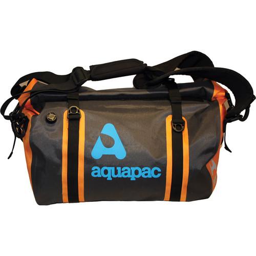 Aquapac 40L Upano Waterproof Duffel (Black, Orange)