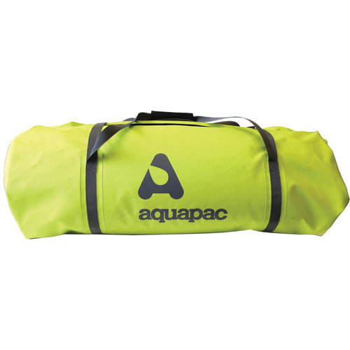 Aquapac 90L TrailProof Duffel (Acid Green / Cool Gray)