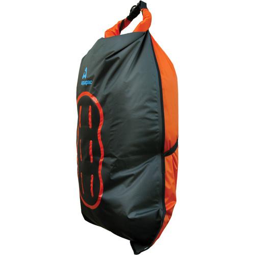 Aquapac 35 Liter Noatak Wet/Drybag (Cool Gray, Black and Orange)