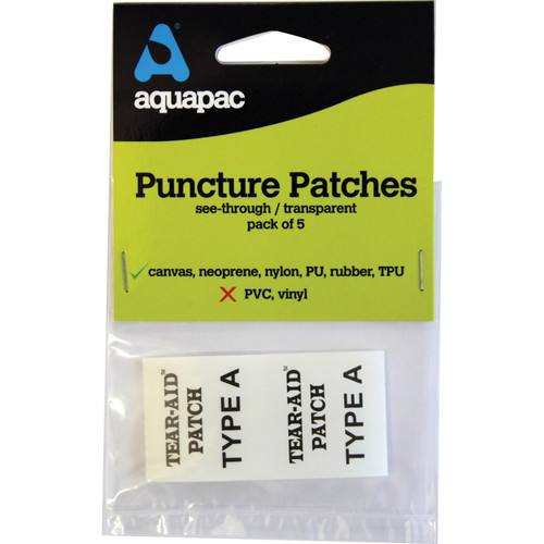 Aquapac Airtight & Watertight Puncture Patches (Not for PVC) (Pack of 5)