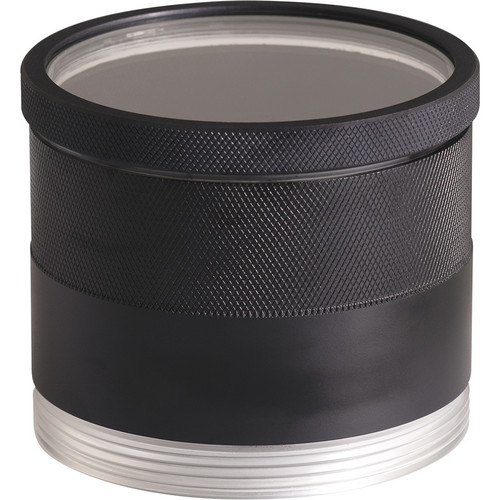 AquaTech P-Series P-160 Flat Port for Canon & Nikon 24-70 mm f/2.8 and Nikon 300 mm f/4E Lenses