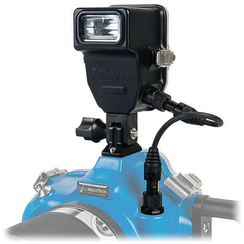 AquaTech Mini C Flash & Housing Kit for Nikon DSLR Cameras