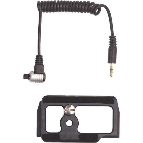 AquaTech Cable Release and Camera Plate Kit for Nikon D500 in BASE Housing
