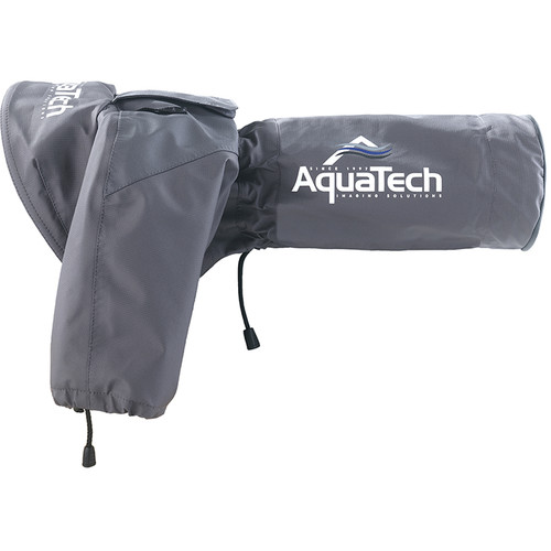 AquaTech SSRC Medium Sport Shield Rain Cover (Gray)