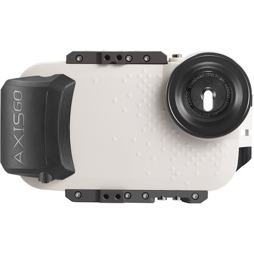 AquaTech AxisGO Water Housing for iPhone 7 Plus or 8 Plus (Seashell White)