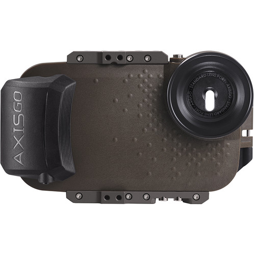AquaTech AxisGO Water Housing for iPhone 7 Plus or 8 Plus (Tactical Green)