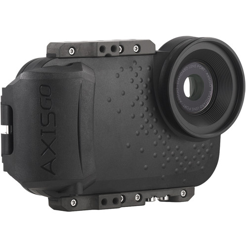 AquaTech AxisGO Water Housing for iPhone 7 or 8 (Moment Black)