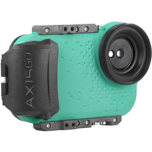 AquaTech AxisGO Water Housing for iPhone XS or X (Seafoam Green)