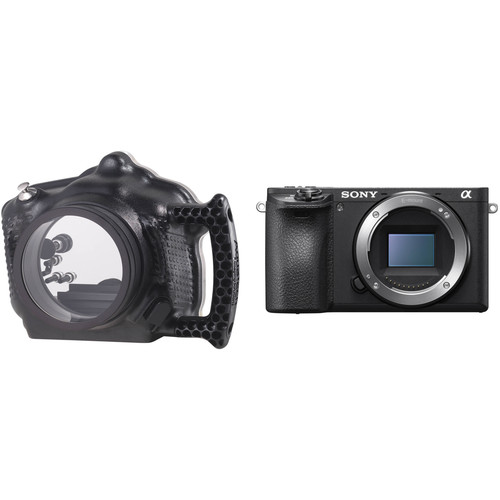 AquaTech ATB A6500 Underwater Housing with Lens Port and Sony Alpha a6500 Mirrorless Camera Body Kit