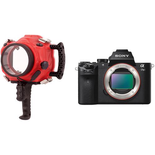 AquaTech Base A7 Series II Underwater Sport Housing and Sony Alpha a7 II Mirrorless Camera Body Kit