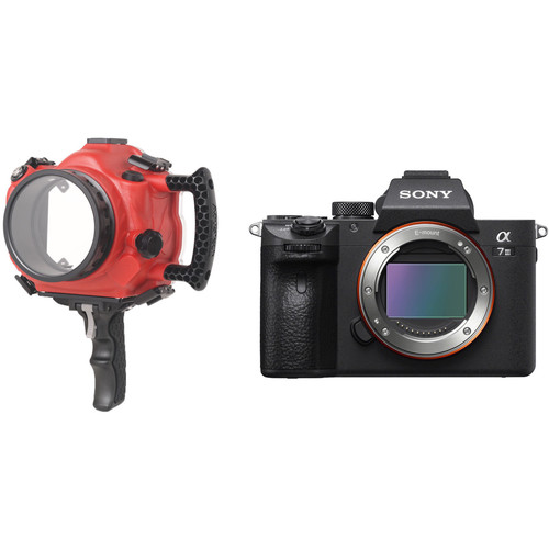 AquaTech Base II Underwater Housing and Sony Alpha a7 III Mirrorless Digital Camera Body Kit