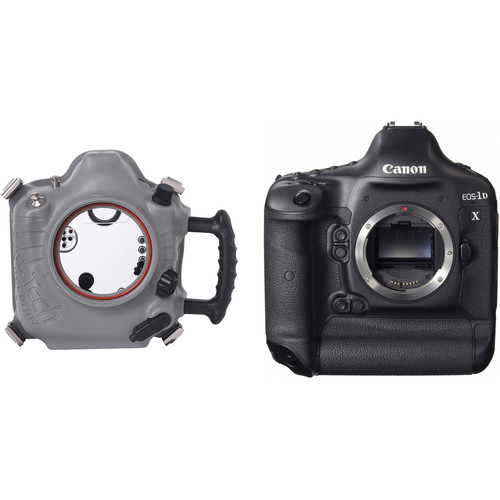 AquaTech Delphin 1D Underwater Sport Housing with Canon EOS-1D X Digital SLR Camera Body Kit
