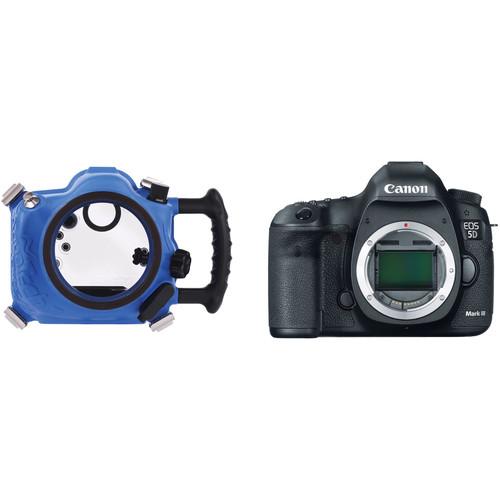 AquaTech Elite 5D III Underwater Sport Housing with Canon EOS 5D Mark III DSLR Camera Kit