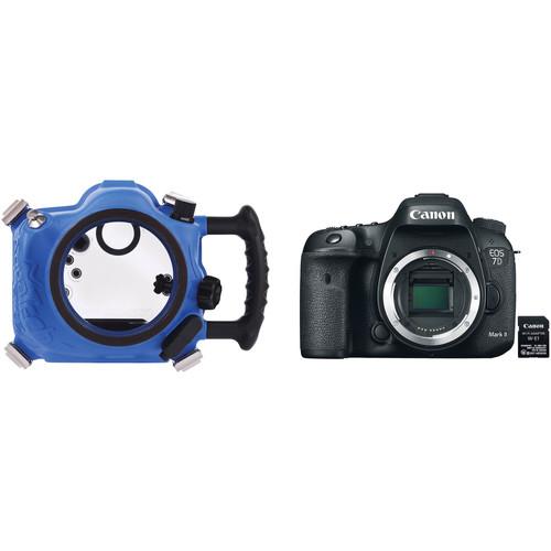 AquaTech Elite 7D II Underwater Sport Housing and Canon 7D Mark II Camera Body Kit