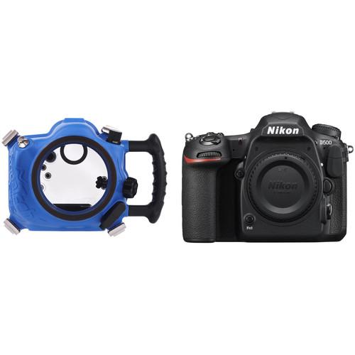 AquaTech Elite D500 Underwater Housing and Nikon D500 Camera Body Kit