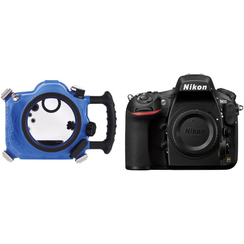 AquaTech Elite D810 / D800 Underwater Sport Housing and Nikon D810 DSLR Camera Body Kit