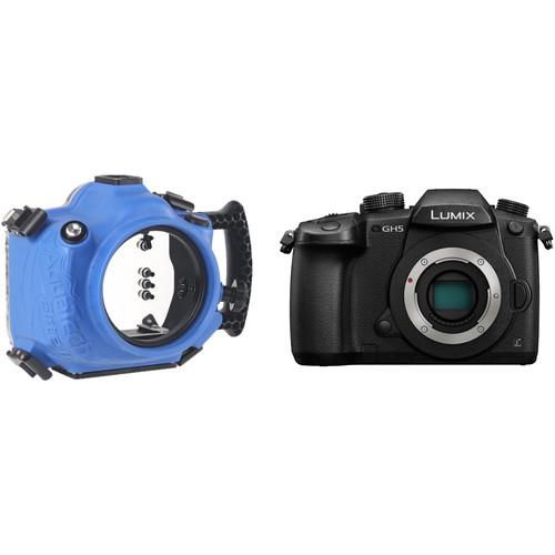 AquaTech Elite II GH5 Underwater Camera Housing and Panasonic Lumix DC-GH5 Mirrorless Micro Four Thirds Digital Camera Body Kit