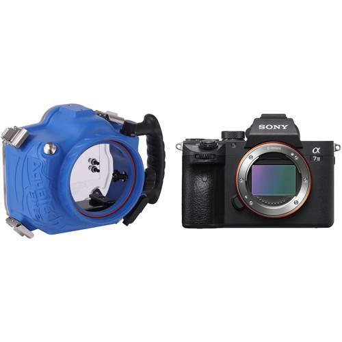 AquaTech Elite Underwater Housing and Sony a7 III Mirrorless Camera Body Kit