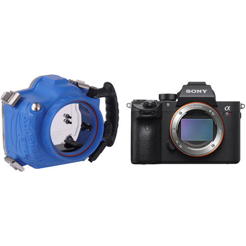 AquaTech Elite Underwater Housing and Sony a7R III Mirrorless Camera Body Kit