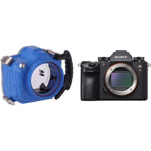 AquaTech Elite Underwater Housing and Sony Alpha a9 Mirrorless Camera Body Kit