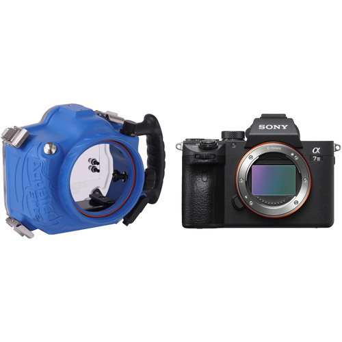 AquaTech Elite Underwater Housing and Sony a7 III Mirrorless Camera Body Kit