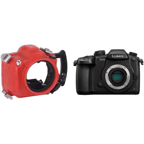 AquaTech Elite Underwater Housing and Panasonic Lumix DC-GH5 Mirrorless Camera Body Kit