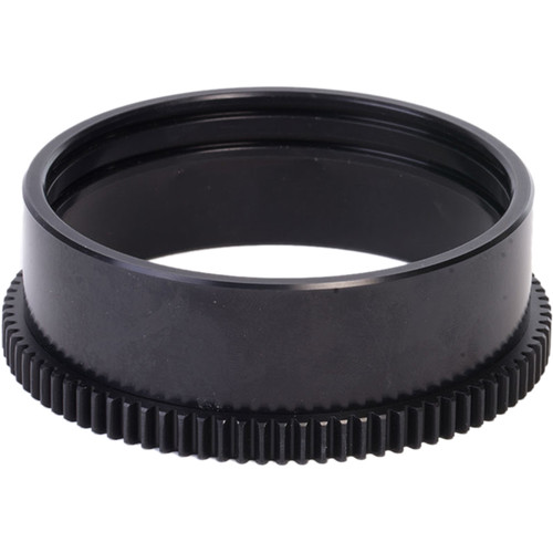 Aquatica 19010 Zoom Gear for Canon 10-18mm f/4.5-5.6 IS STM in Lens Port on Underwater Housing