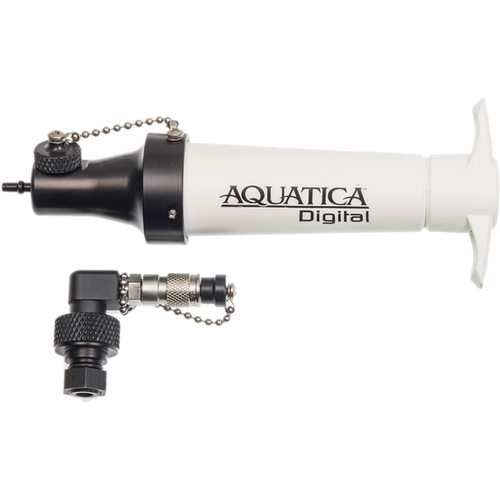 Aquatica Vacuum Valve and Extracting Pump for AGH4 Underwater Housing