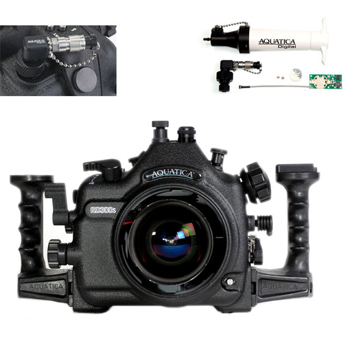 Aquatica AD300s Underwater Housing for Nikon D300s with Vacuum Check System (Fiber-Optic & Nikonos Strobe Connectors)