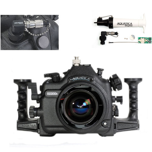 Aquatica AD300s Underwater Housing for Nikon D300s with Vacuum Check System (Ikelite TTL/Manual Strobe Connector)
