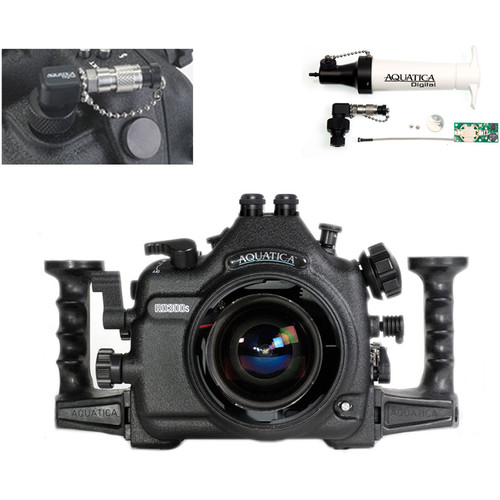 Aquatica AD300s Underwater Housing for Nikon D300s with Vacuum Check System (Dual Optical Strobe Connectors)