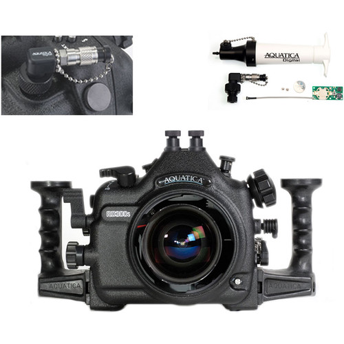 Aquatica AD300s Underwater Housing for Nikon D300s with Vacuum Check System (Dual Nikonos Strobe Connectors)
